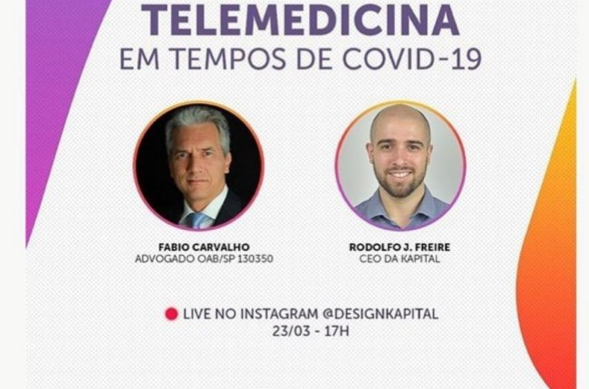 imagem TELEMEDICINA EM TEMPOS DE COVID-19 - LIVE INSTAGRAM 2020-03-23